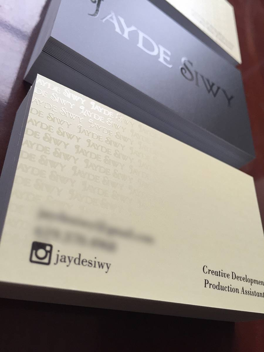 Jayde Siwy Business Cards